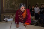 G7 Agricoltura, Vandana Shiva incontra sindaco Bergamo