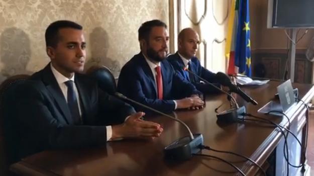 elezioni regionali Sicilia, m5s sicilia, Angelo Cambiano, Giancarlo Cancelleri, Luigi Di Maio, Sicilia, Politica