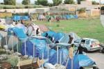 Campobello, campo immigrati stagionali: sale la tensione