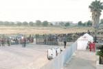 Inaugurato il campo per migranti a Campobello ma rimane vuoto