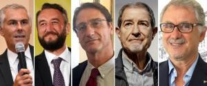 I big in Sicilia per gli ultimi comizi Chiusure elettorali a Palermo e Catania