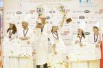 Campionati cake design, sul podio Emirati, Usa e Polonia