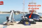 In barca a vela nell'Atlantico con 400 chili di cocaina dal valore di 184 milioni