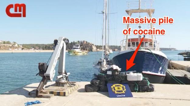 barca a vela atlantico, cocaina su barca a vela, Sicilia, Mondo