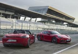 Porsche espande gamma 718 con nuove GTS
