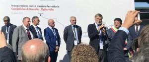 Doppio binario tra Palermo e Cefalù: inaugurata la Campofelice-Ogliastrillo