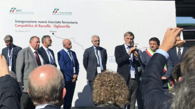 Doppio binario Palermo-Cefalù, Graziano Delrio, Sicilia, Economia