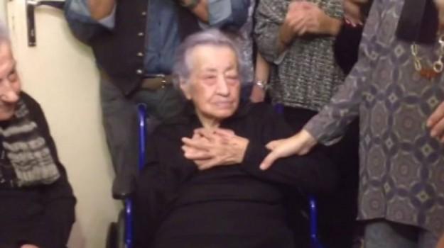 113 anni zia dedè, Diega Cammalleri, Agrigento, Società