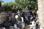 Discarica abusiva a Modica, sequestrata l'area e denunciato il proprietario del fondo