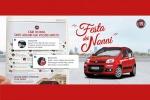 Per Festa Nonni Fiat Panda porta auguri social sulla carta