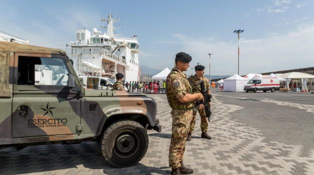 traffico mezzi militari, Trapani, Cronaca