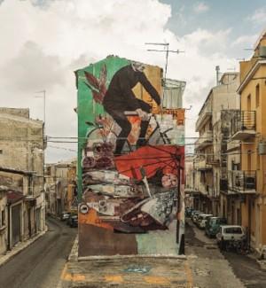 FestiWall a Ragusa, completato il murales del duo Gue