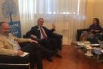 """Forum con La Rosa al Giornale di Sicilia: """"Una nostra moneta e dialetto a scuola"""""""
