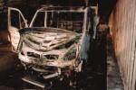 Furgone bruciato ad Acquedolci, terzo attentato in pochi giorni