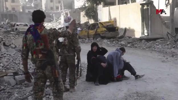 guerra siria raqqa, lotta al califfato, lotta Isis, Sicilia, Mondo