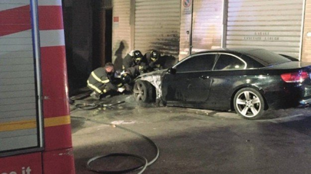 incendio auto, Trapani, Cronaca