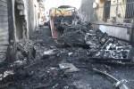 Indagini sull'esplosione del camper a Palermo, non si esclude il dolo