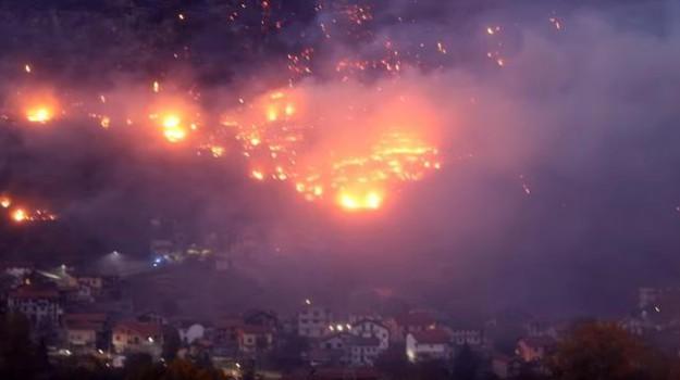 incendi piemonte, incendi val di susa, Sicilia, Cronaca