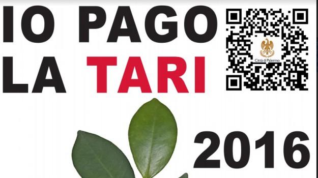 logo io pago la tari, tari comune palermo, Palermo, Economia