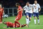 Azzurri, con la Macedonia un punto tra i fischi: Trajkovski risponde a Chiellini