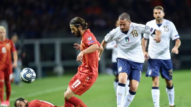 Italia macedonia, mondiali, Aleksandar Trajkovski, giorgio chiellini, Sicilia, Sport