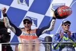 Marquez trionfa al Gp di Australia, Rossi secondo