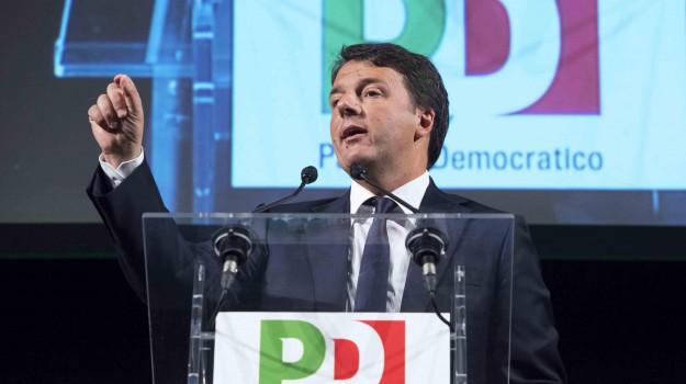 forza italia, partito democratico, Matteo Renzi, Pietro Grasso, Sicilia, Politica