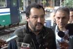 """Salvini in Sicilia: """"Mai alleati col Pd, chiamerei Grillo"""""""