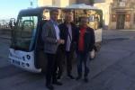 Bus gratuito ed ecologico nel centro storico di Salemi