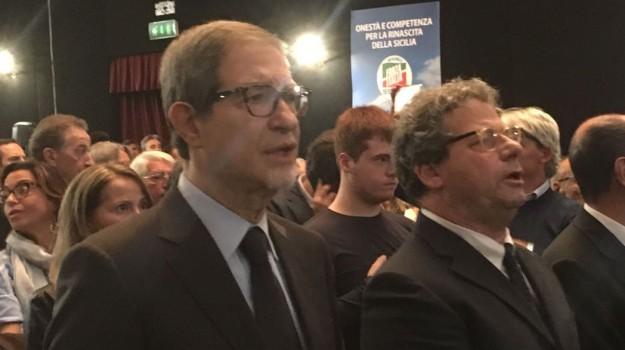 regionali sicilia 2017, Francesco Scoma, Gaetano Armao, Gianfranco Miccichè, Nello Musumeci, renato schifani, Sicilia, Politica