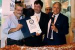 Fiasconaro premiato a Mazara per la cubbaita più lunga del mondo