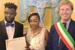 L'incontro dopo lo sbarco e l'amore, profughi nigeriani sposi ad Agrigento
