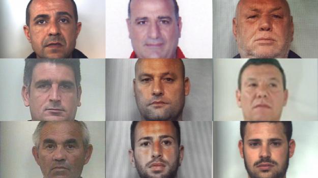 Furti nei cantieri edili in Sicilia, nomi e foto dei nove arrestati