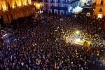 """Grillo in piazza a Catania: """"In Sicilia si potrebbe cambiare"""""""