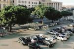 Piazza Vittorio ad Agrigento, i parcheggiatori abusivi non vanno via