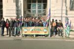 Agricoltori in piazza contro il caporalato a Messina