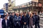 """Nuova protesta dei 105 disoccupati del """"bacino prefettizio"""" a Catania"""