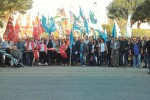 Sit-in dei sindacati, lavoratori e precari scendono in piazza a Trapani