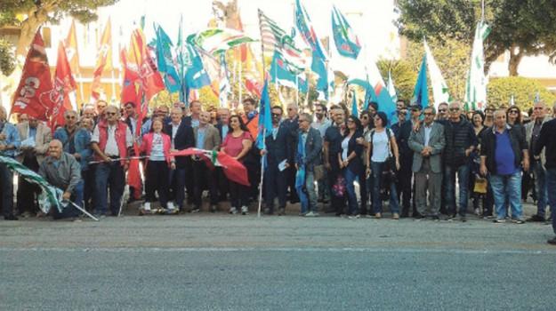 proteste lavoratori, Trapani, Economia
