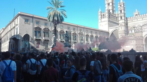 cortei studenti, Sicilia, Cronaca