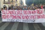 Corteo degli studenti a Palermo, il video della manifestazione
