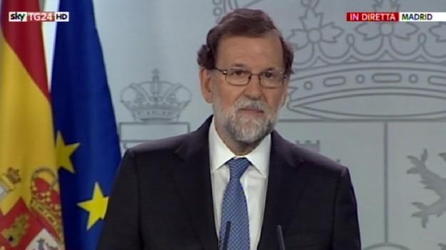 crisi spagnola, indipendenza catalogna, Mariano Rajoy, Sicilia, Mondo