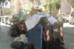 Villaggio Mosè tra i rifiuti, protestano i commercianti