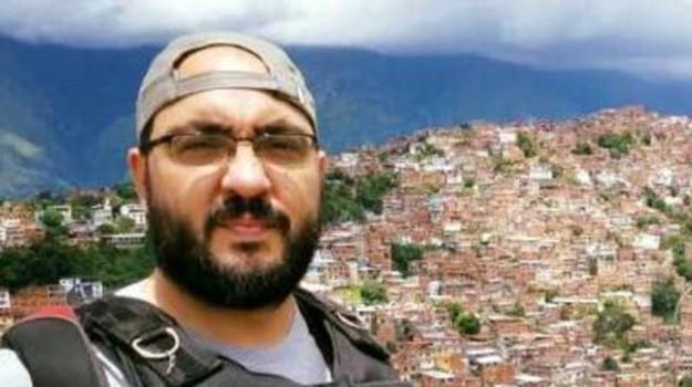 Giornalista italiano rapito Venezuela, Sicilia, Mondo