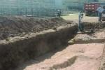 Scavi allo stadio di Siracusa, trovati reperti archeologici