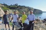 Il porto di Sciacca liberato dai rifiuti