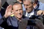 """Berlusconi: """"Centrodestra al 40%, nessuna chance per il M5s"""""""