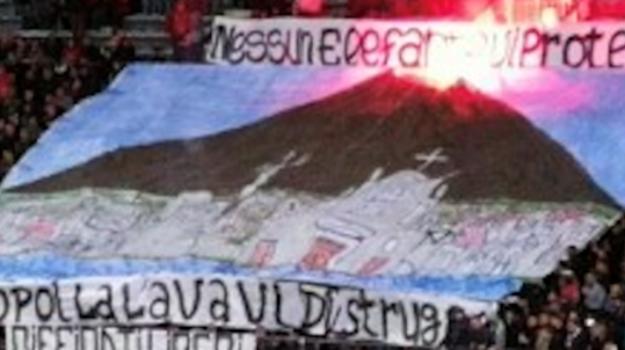 striscione reggina catania, Catania, Sport