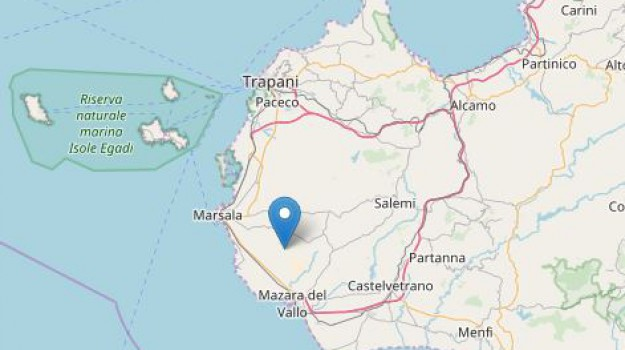 terremoto petrosino, Trapani, Cronaca