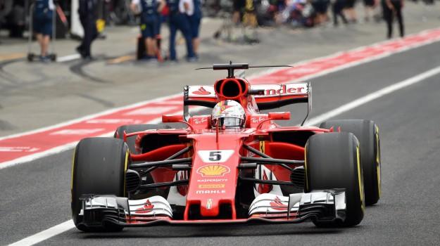 Ferrari, formula 1 giappone, ritiro vettel ferrari, Sicilia, Sport